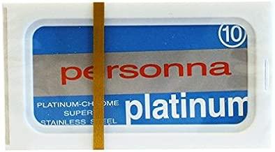 Personna Blue Platinum Blades (10) 10 blades by Personna