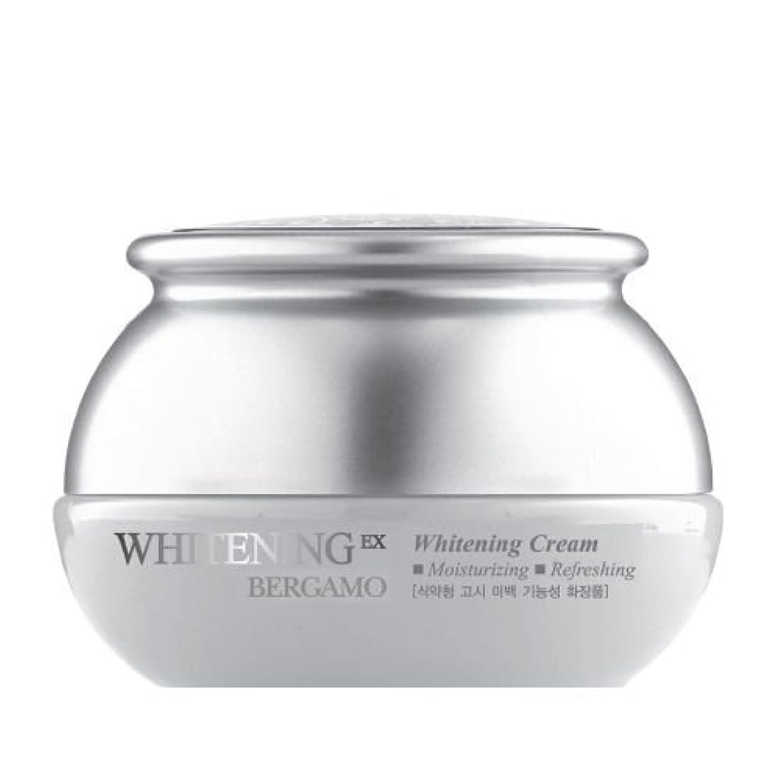 偏心ぼんやりした誤ってベルガモ[韓国コスメBergamo]Whitening EX Wrinkle Care Cream ホワイトニングEXリンクルケアクリーム50ml しわ管理 [並行輸入品]