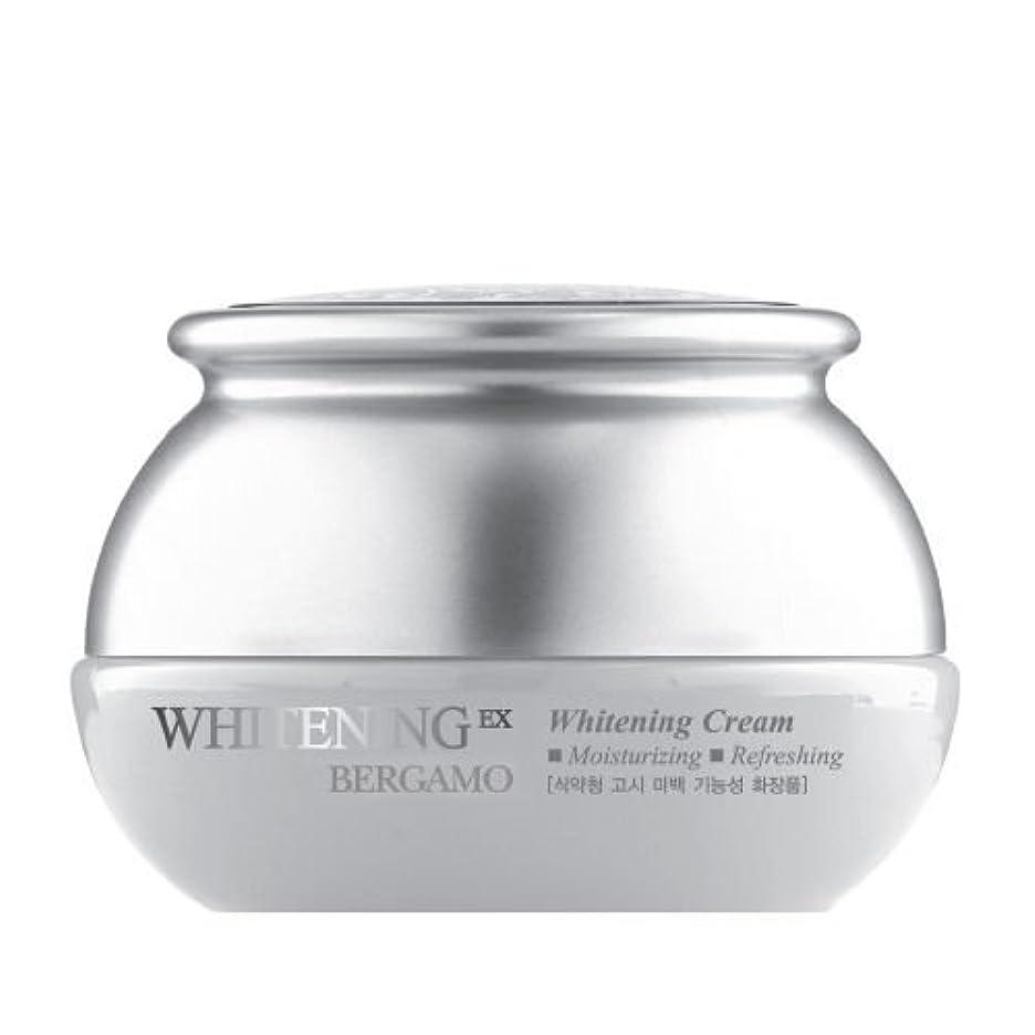 セマフォ認可雷雨ベルガモ[韓国コスメBergamo]Whitening EX Wrinkle Care Cream ホワイトニングEXリンクルケアクリーム50ml しわ管理 [並行輸入品]