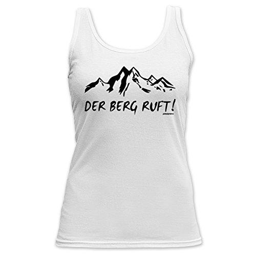 Der Berg Ruft! Lady Tanktop T-Shirt - Schneehemd mit Motiv