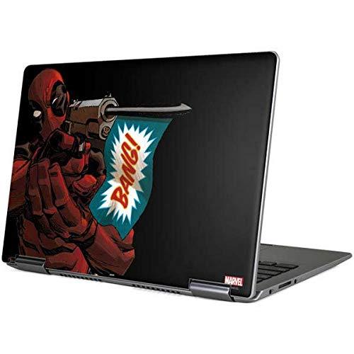 Skinit Decal Laptop Skin for Yoga 710 14in - Officially Licensed Marvel/Disney Deadpool Bang Design