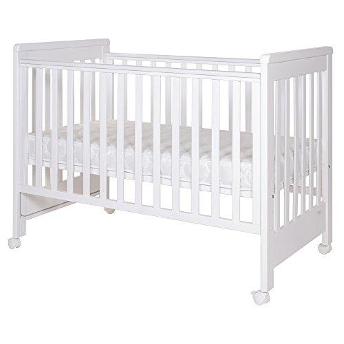Treppy 1136 Babybetten, Dreamy Plus 2, 120 X 60, weiß