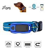 Hangang GPS Tracker for Dogs and Cats, Waterproof GPS Locator Fits Dog Collar