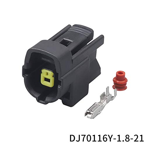 100 Kit Conjunto 1 Manera De Clavija Macho Conector De Cable Impermeable...