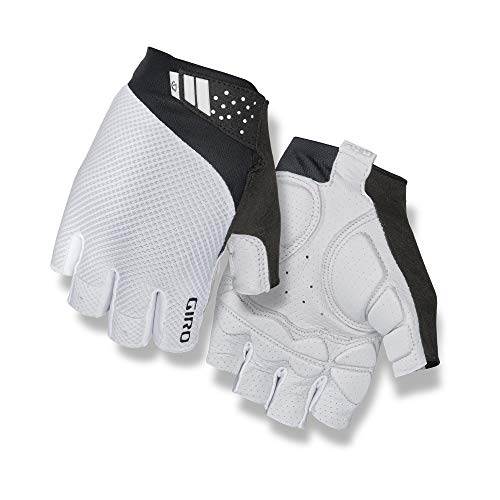 Giro Unisex– Erwachsene Monaco II Gel Fahrradhandschuhe, White, XL
