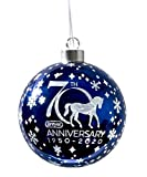 Breyer Horses 2020 Holiday Collection | 70th Anniversary Glass Ball Ornament | Model #700682