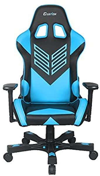 Crank Series Onylight Edition Red Gaming Chair Black Blue