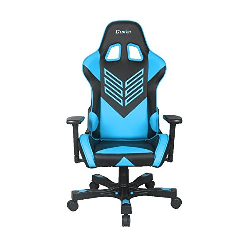 "CLUTCH CHAIRZ Crank Series ""Onylight Edition"" World's Best Gaming Chair (Black/Orange) Racing Bucket Seat Gaming Chairs Computer Chair Esports Chair Executive Office Chair w/Lumbar Support Pillows"