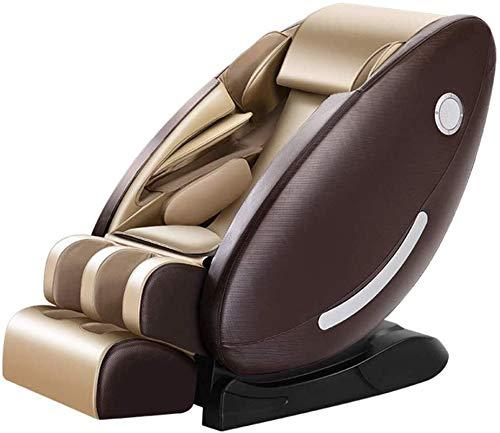 PIAOLIGN Silla de masaje eléctrica de cuerpo completo, brazo eléctrico, salón, reclinable, soporte SPA Fitness Sofa, gravedad cero, sistema de calefacción automático, con altavoz Bluetooth