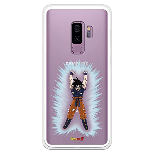 Funda para Samsung Galaxy S9 Plus Oficial de Dragon Ball Goku Bola de Energia para...