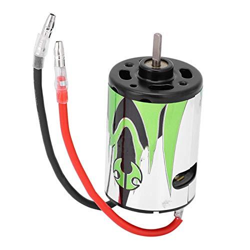 Drfeify Motor eléctrico de Coche RC, Motor de Metal Profesional Duradero 27T AX24004 Accesorio de actualización RC Apto para SCX10 1/10 RC Crawler