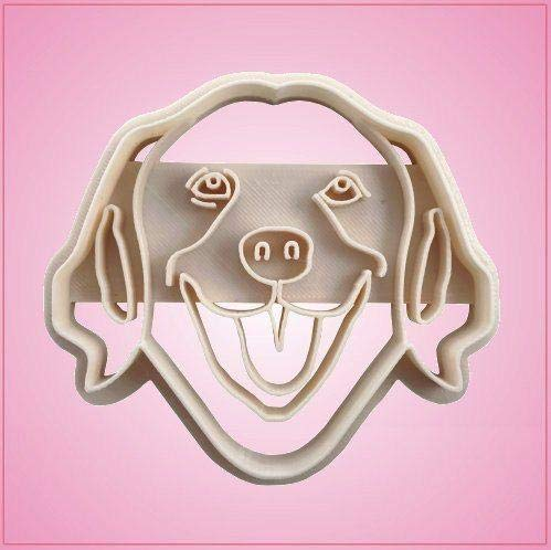 Embossed Golden Retriever Cookie Cutter-One Piece Only