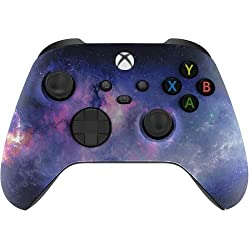 Xbox One Soft Touch Design Custom Gaming Controller -Soft Shell for Comfort Grip X for Microsoft Xbox 1 (Galaxy)