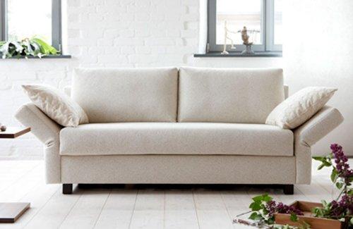 Schlafsofa Cuba, 142x200cm, Sofa mit Schlaffunktion von Signet - Lube sesam