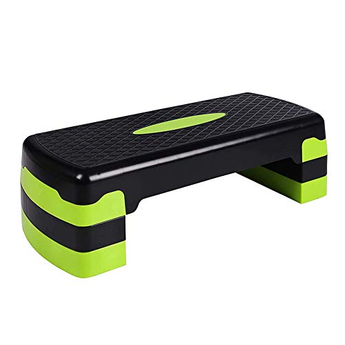 Aerobic Stepper, Fitness pedaal Verstelbare 3 Levels Oefening Step Platform voor oefening Weight Loss Home Gym Yoga