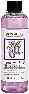 [BONAJOUR] Eggplant Daily BHA Toner Salicylic Acid Gentle Exfoliating Anti-Acne treatment Natural Toner 7.2 fl. oz