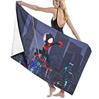 スパイダーマンのヴェノム (1) ファッション厚手の多機能 バスタオル スーパーソフト 極度の吸収性 速乾 防砂 抗菌 コットン ガース 防臭 軽量 旅行用タオル ビーチタオルマット