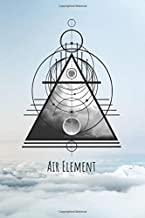 Air Element: Pagan and Wicca Lined Notebook For Witches and Warlocks (6
