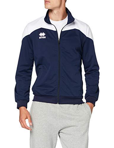 Errea Garric Ad, Giacca Sportiva Uomo, Blu Bianco, M