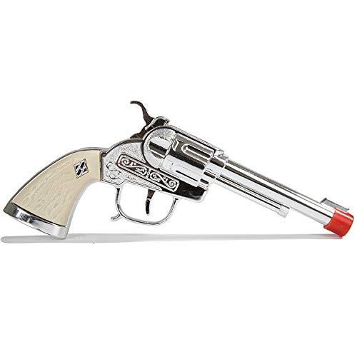 PARRIS CLASSIC QUALITY TOYS EST. 1936 Cowboy Die Cast Steel Side Loading Toy Pistol