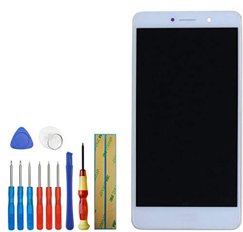 Swark - Pantalla LCD compatible con Huawei Honor 6X BLN-AL10 BLN-L21 BLN-L22 BLN-L24 (5,5 pulgadas, táctil, con herramientas), color blanco