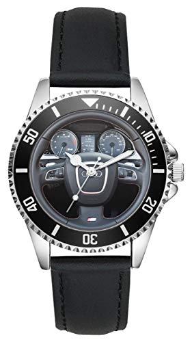 Regalo para Audi S5 Fan Conductor Kiesenberg Reloj L-10104