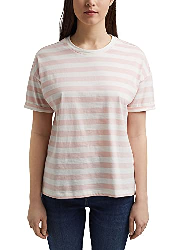 Esprit 021ee1k343 T-Shirt, Couleur Chair, XL Femme