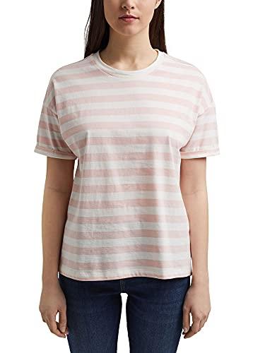 Esprit 021ee1k343 Camiseta, Color Carne, S para Mujer