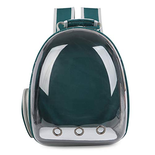 Pet Cat Dog Carrier Backpack Space Capsule Bubble Transparent Backpack Portable Travel Bag Airline-Approved for Hiking Walking Outdoor Use