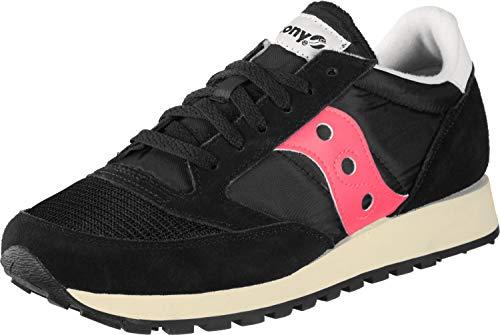Saucony Jazz Original Vintage, Sneakers Unisex-Adulto, Black Pink 45, 44 EU