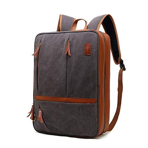 Bolen University school bag, lady girl stripe backpack, shoulder bag and pencil case, simple canvas travel backpack 15 inch notebook school computer bag-green-