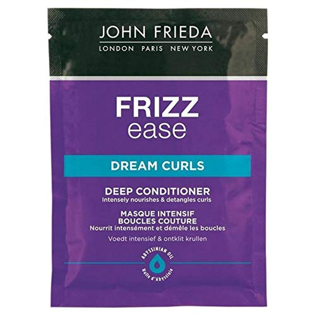 士気くすぐったいホイットニー[John Frieda ] ジョン?フリーダ縮れ容易夢のカールコンディショナー25ミリリットル - John Frieda Frizz Ease Dream Curls Conditioner 25ml [並行輸入品]