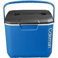 Coleman 30QT Performance Cool Box-Enfriador 30 Cuartos de galón, refrigeradora de Alto Rendimiento, Caja de Hielo para Bebidas, Unisex Adulto, Azul, 28 litros