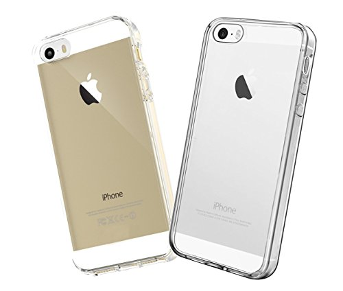 iPhone SE Case, iPhone 5s Clear Case, agOva Crystal Clear Protective Case Scratch Resistant Shock-Absorbing Bumper Cases with Hard Back Panel for Apple iPhone 5/5s/SE (Ultra Clear)
