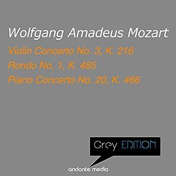 Grey Edition - Mozart: Violin Concerto No. 3, K. 216 & Piano Concerto No. 20, K. 466