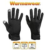 Warmawear sous-Gants Chauffants Dual Fuel à Piles Parfait pour Le Faire du Vélo et Courir (Moyen)