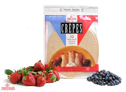 Melissa's Ready-to-Use Crepes, 3 Packages