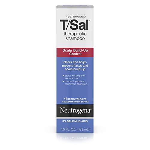 Neutrogena T/SAL Therapeutic Shampoo for Scalp Build-Up Control with Salicylic Acid, Scalp...
