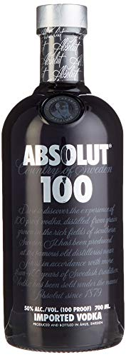 Absolut 100 Wodka (1 x 0,7 l)