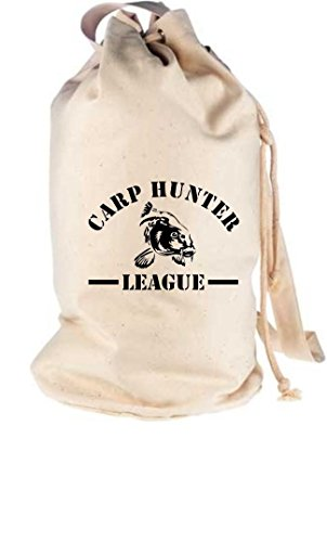 Camiseta stown–Petate Carp Hunter League Pesca, color Beige - naturaleza, tamaño talla...