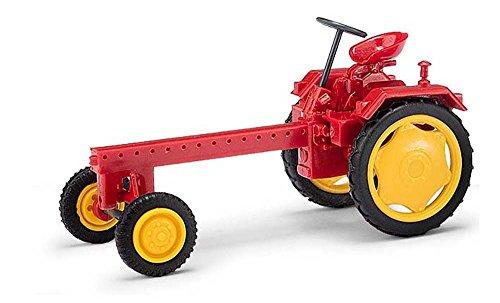 Busch 210005600 - Tractor RS09 Rojo - Escala 1/87 - Tractor en Miniatura - modelismo ferroviario