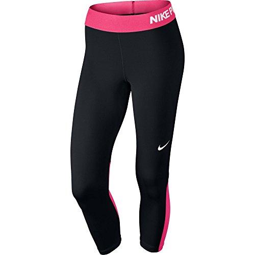 Nike Womens Capri Banded Athletic Leggings Black XS