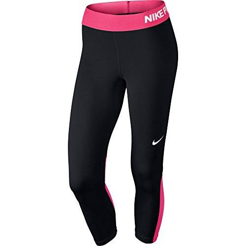 Nike Womens Capri Banded Athletic Leggings Black XS