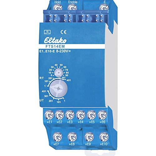 Eltako Eingabemodul für RS485-Bus, 1 Stück, FTS14EM, Blau