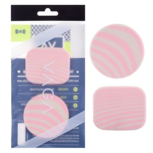 VAGA Professional Makeup Sponge Kit or Blenders for Liquid Makeup or Cream Foundation with High Coverage, Serves to Apply Facial Cleaning Products, Microfiber Sponges