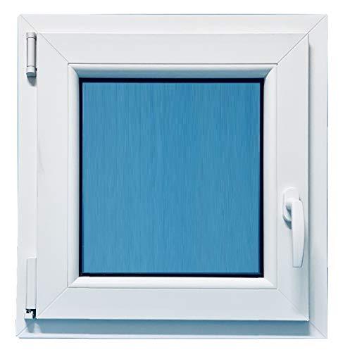 ECO-BLU Ventana PVC Pract. Oscilobatiente Izquierda 1 hoja Climalit, blanco, 900x900mm