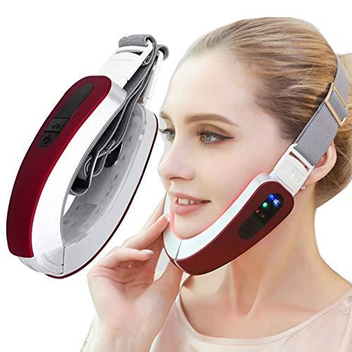 QGPWHLS Elektrische V-Form Face Shaper Massage Facelift-Werkzeug Gesichts-Dünngesichts-Schönheits-Maschine Reduzieren Sie Das Doppelkinn-Straffende Gesichtsgerät