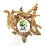 Sancho & Lola's 10oz Beef Tendons for Dogs - Made in USA/Nebraska (8-12 Count) Plain Gambrel/Small Batch Single-Ingredient Grain-Free Chews - Smoked Beef and Smoked Turkey Tendons Also Available
