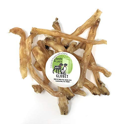 USA Premium BEEF, TURKEY or ELK Tendons for Dogs Boutique Single Ingredient Grain-Free
