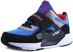 Scarpe da Ginnastica Bambino 26 Scarpe da Tennis per Bimbo Sportive Scarpe Basket Traspirante Sneakers all'aperto Unisex al Coperto Scarpe Sportive Blue